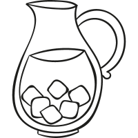 Drink Jar vector