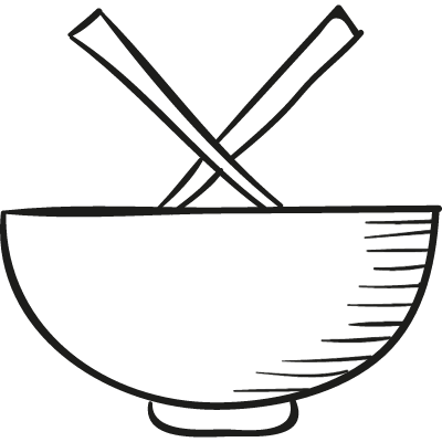 Chinese Bowl vector logo