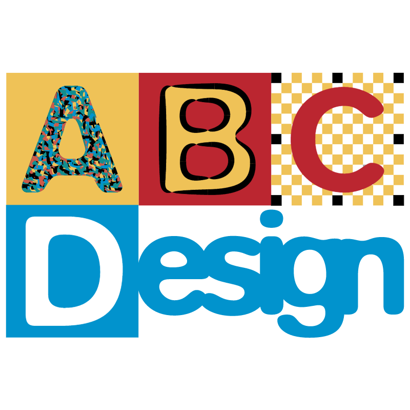 ABC Design vector logo