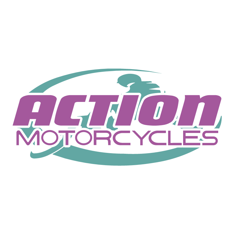 Action Motor Cycles vector logo