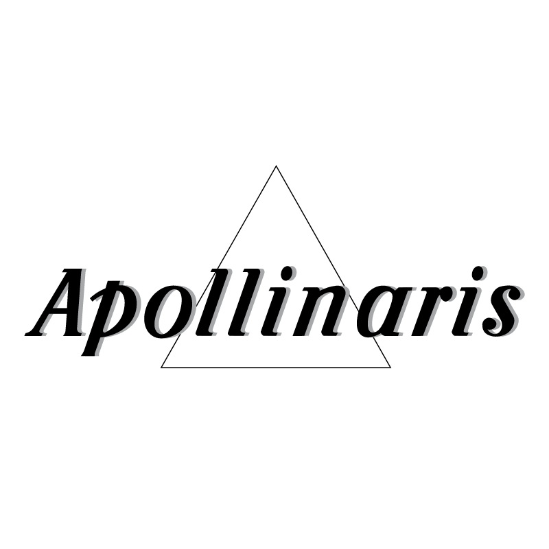 Apollinaris 67271 vector logo