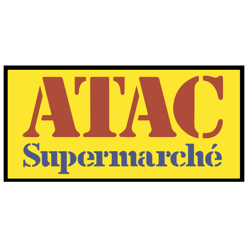 Atac Supermarche 702 vector
