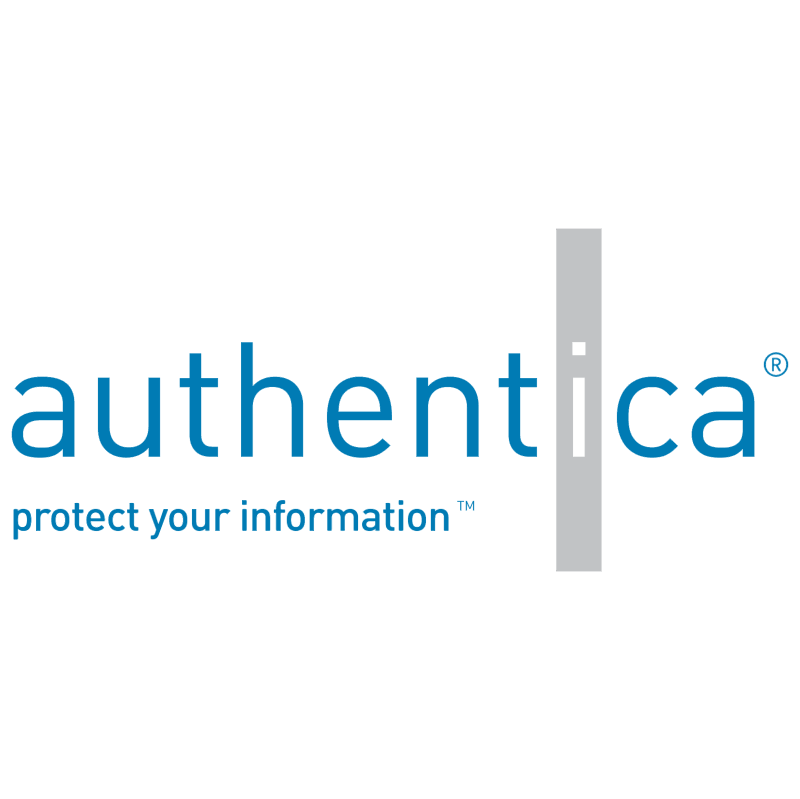 Authentica vector logo