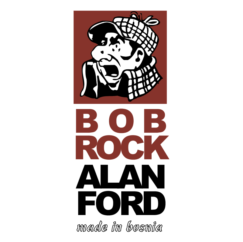 Bob Rock Alan Ford Made in Bosnia vector