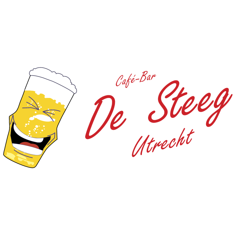 Cafe Bar De Steeg vector logo
