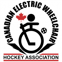 Canadian Electric Wheelchair Hockey Association vector