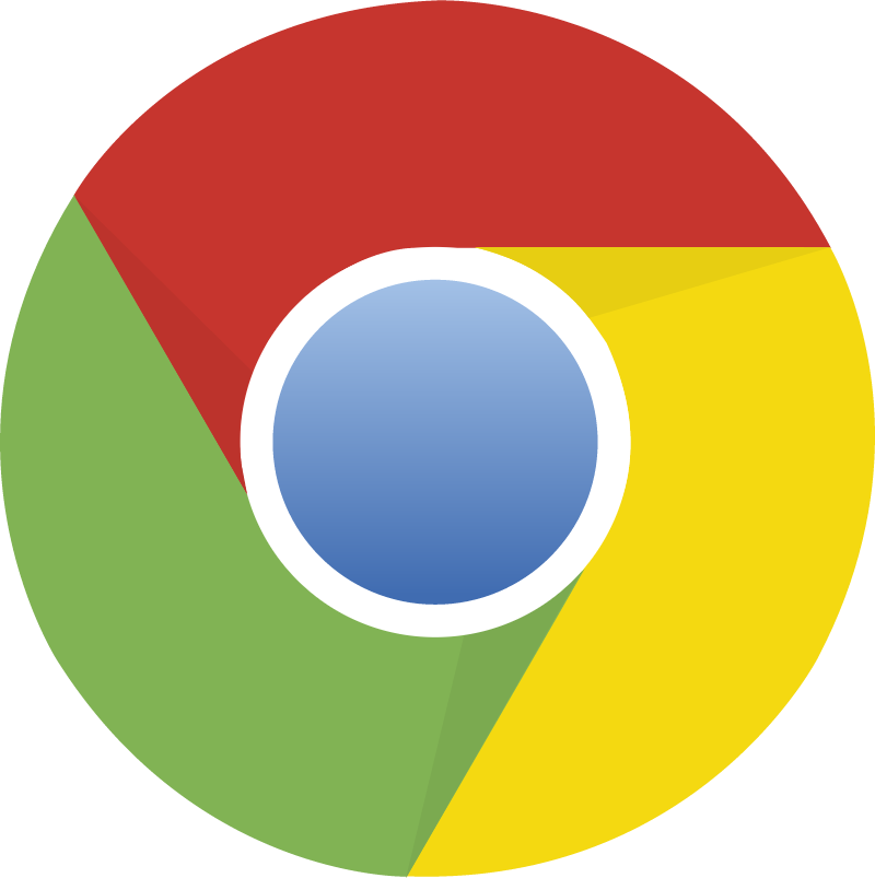 chrome vector logo