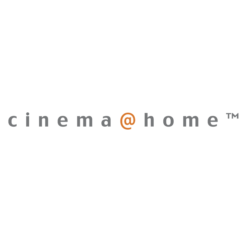 cinema home vector logo
