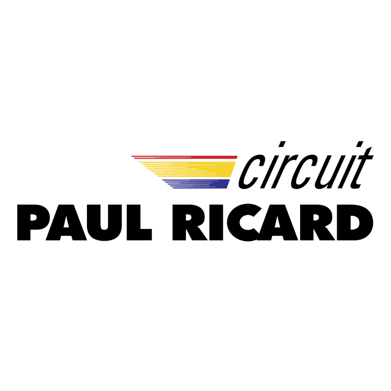 Circuit Paul Ricard vector