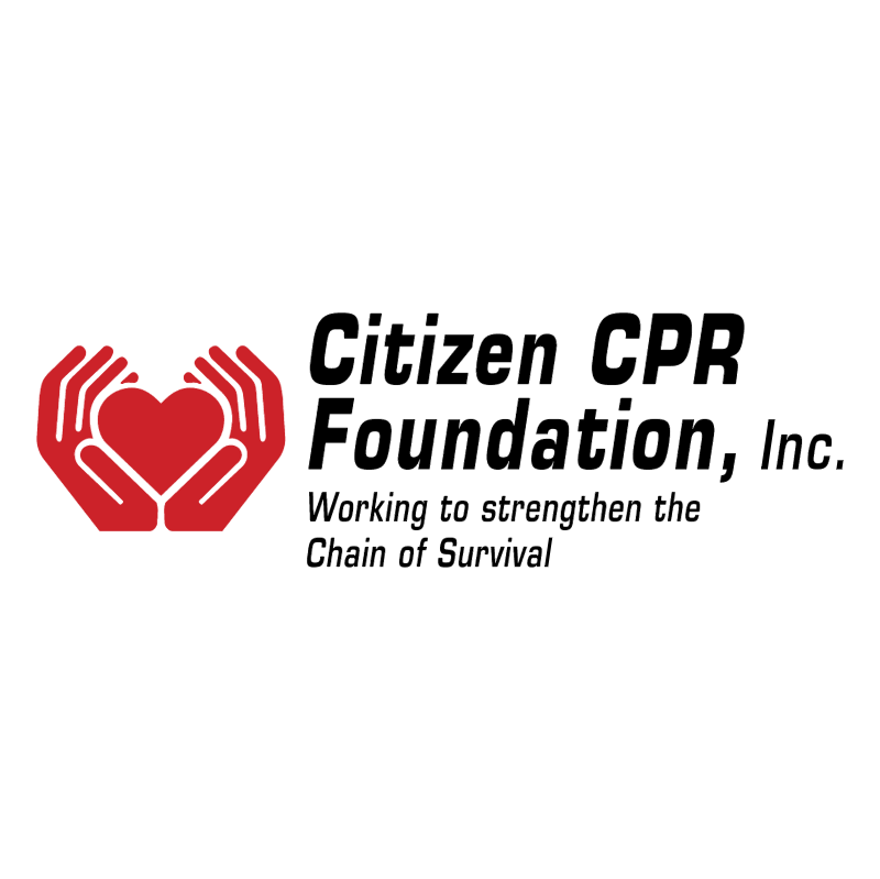 Citizen CPR Foundation vector