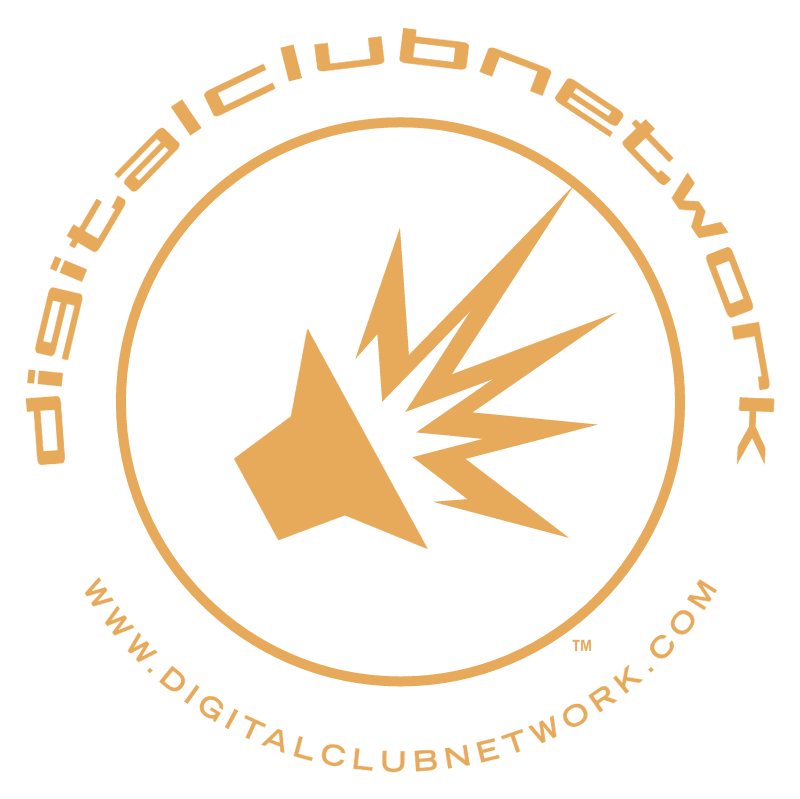 Digital Club Network vector logo