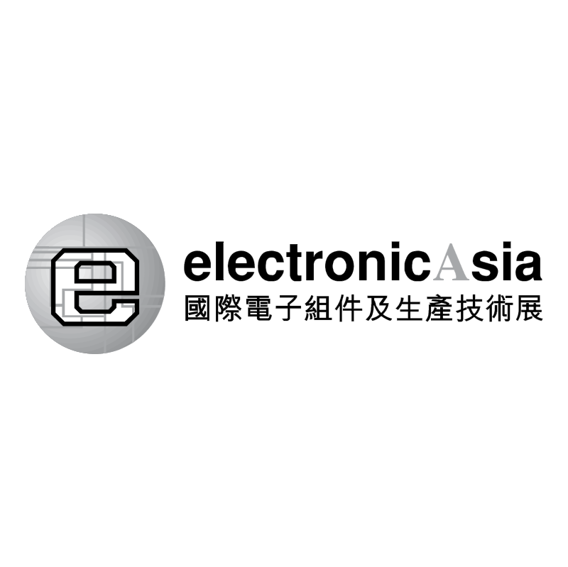 Electronic Asia vector
