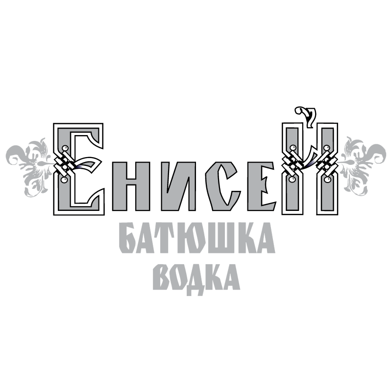 Enisey Vodka vector logo