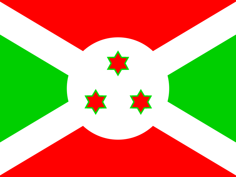 Flag of Burundi vector logo
