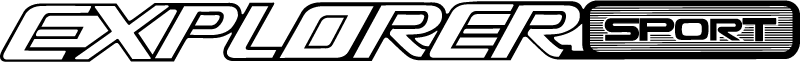 Ford Explorer Sport vector logo