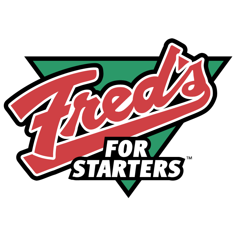 Fred's For Starters vector logo
