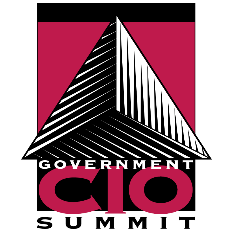 Government CIO Summit vector logo