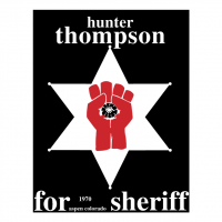 Hunter S Thompson vector