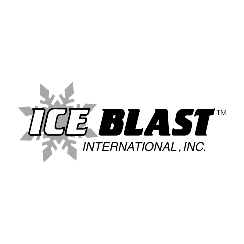 Ice Blast vector logo
