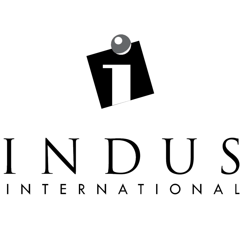 Indus International vector logo