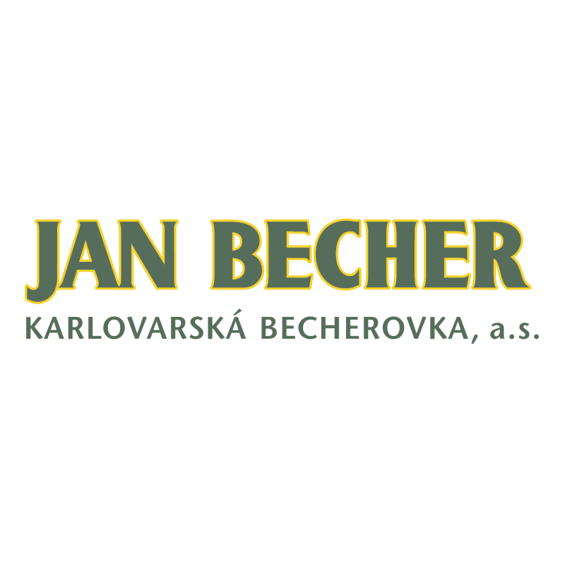 Jan Becher vector logo