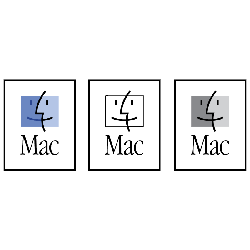 Mac OS vector logo