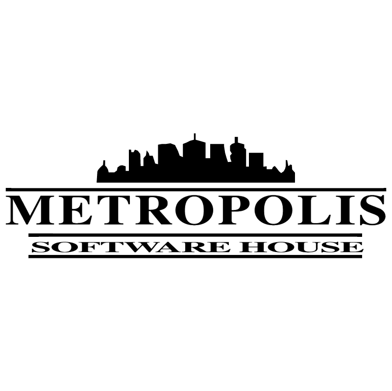 Metropolis Software House vector logo