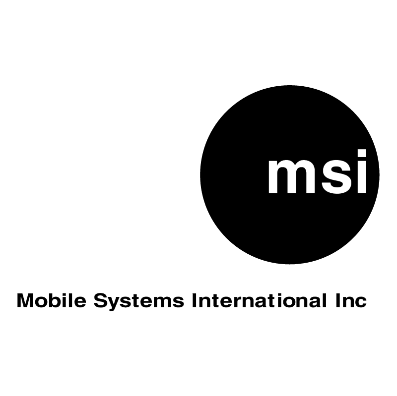 MSI vector logo