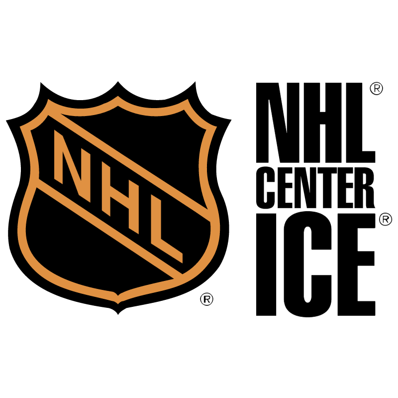 NHL Center ICE vector logo