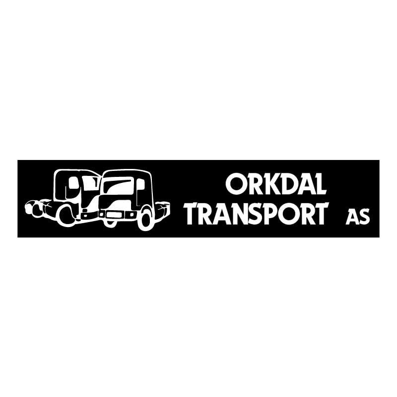 Orkdal Transport AS vector logo