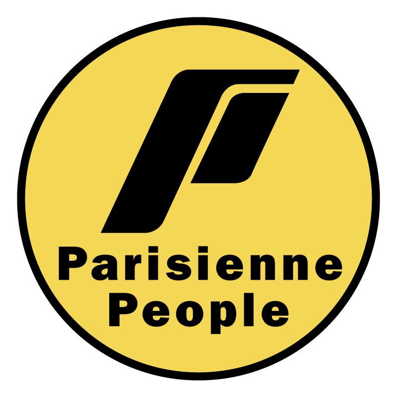 Parisienne People vector logo
