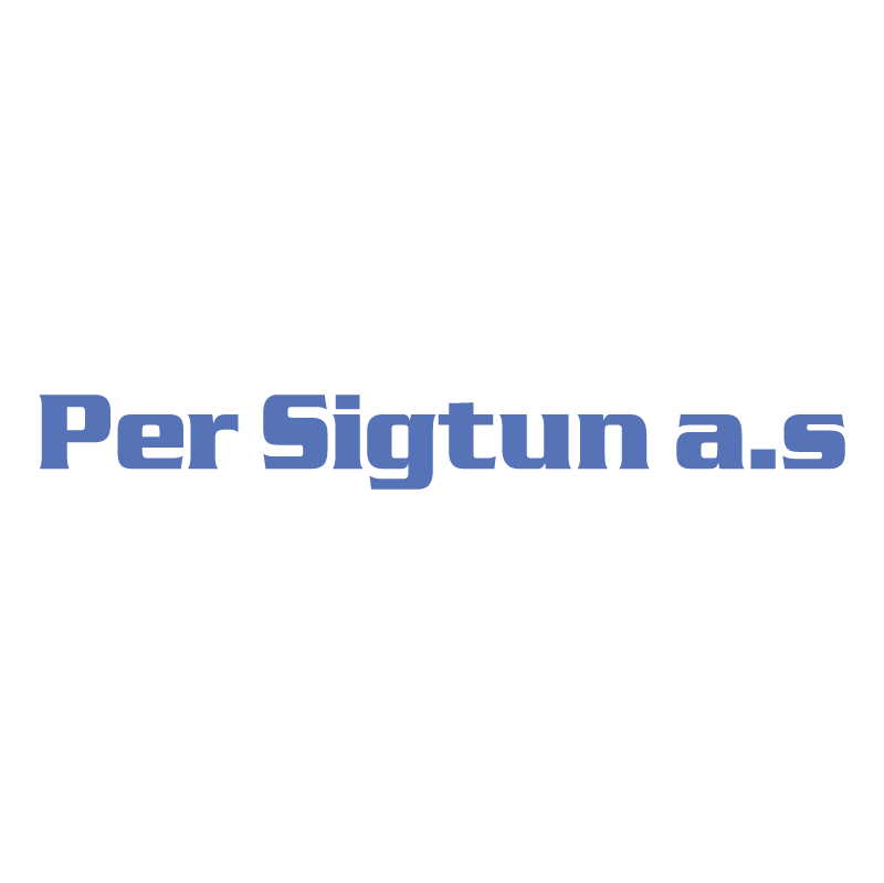 Per Sigtun AS vector logo