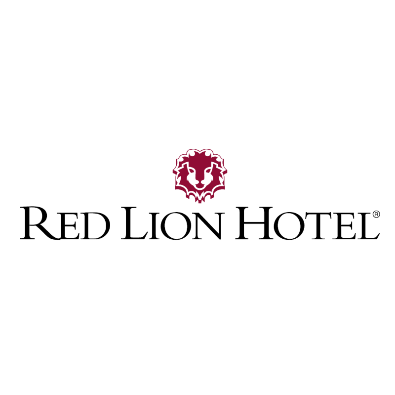 Red Lion Hotel vector logo