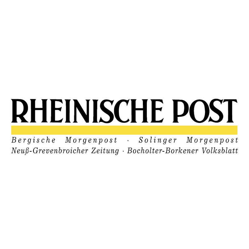 Rheinische Post vector