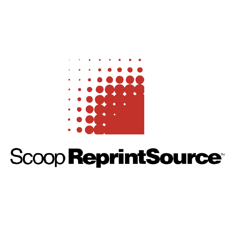Scoop Reprint Source vector logo