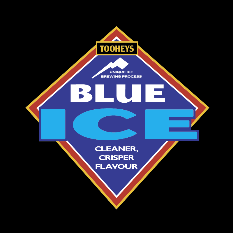 Tooheys Blue Ice vector