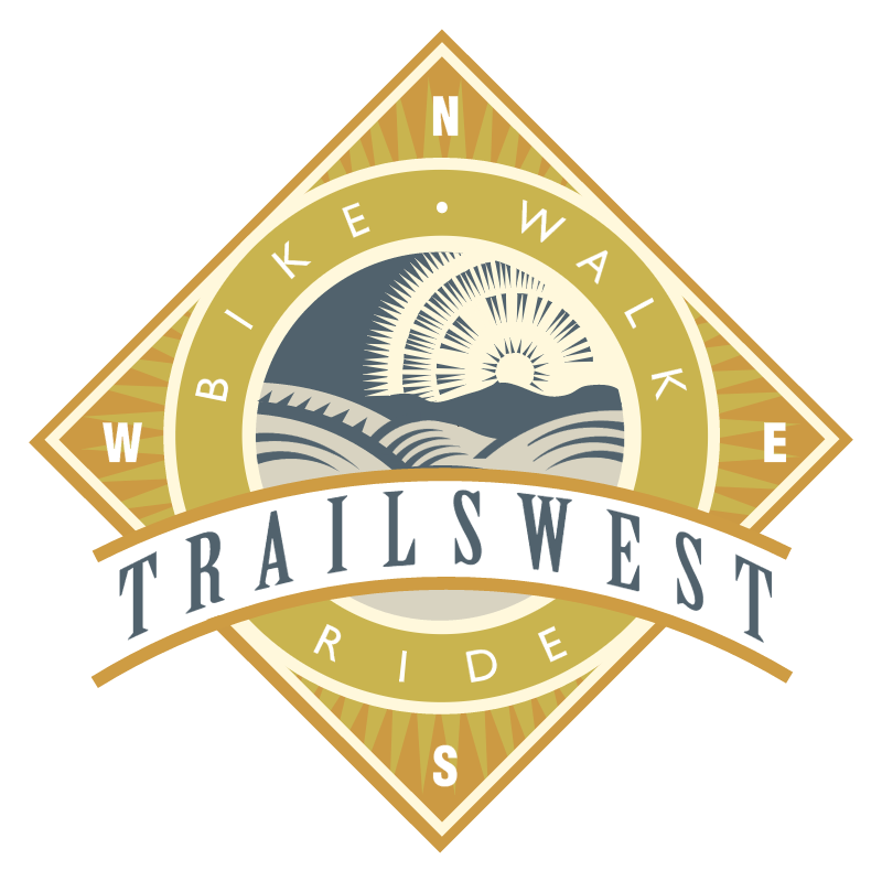 Trailswest vector logo