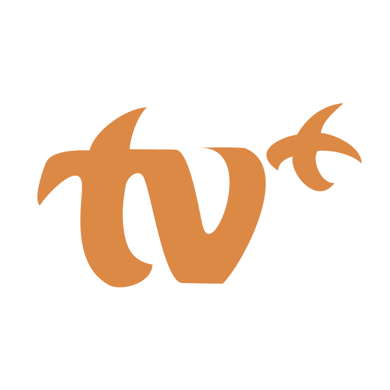 TV Plus vector logo