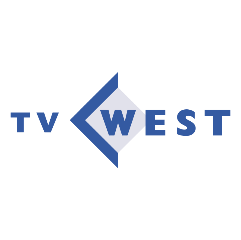 TV West vector logo