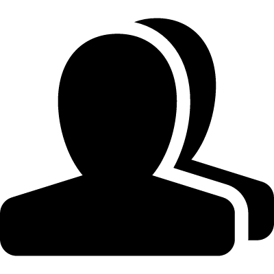 Users sign vector logo