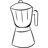 Coffe Pot vector