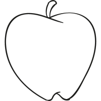 Apple with Skin vector