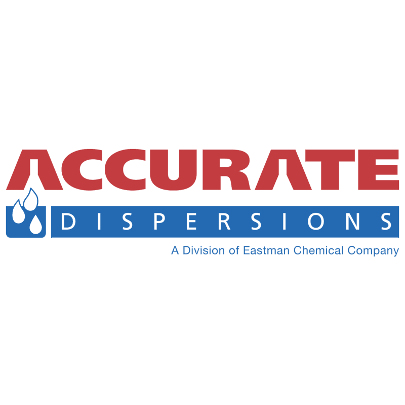 Accurate Dispersions vector logo
