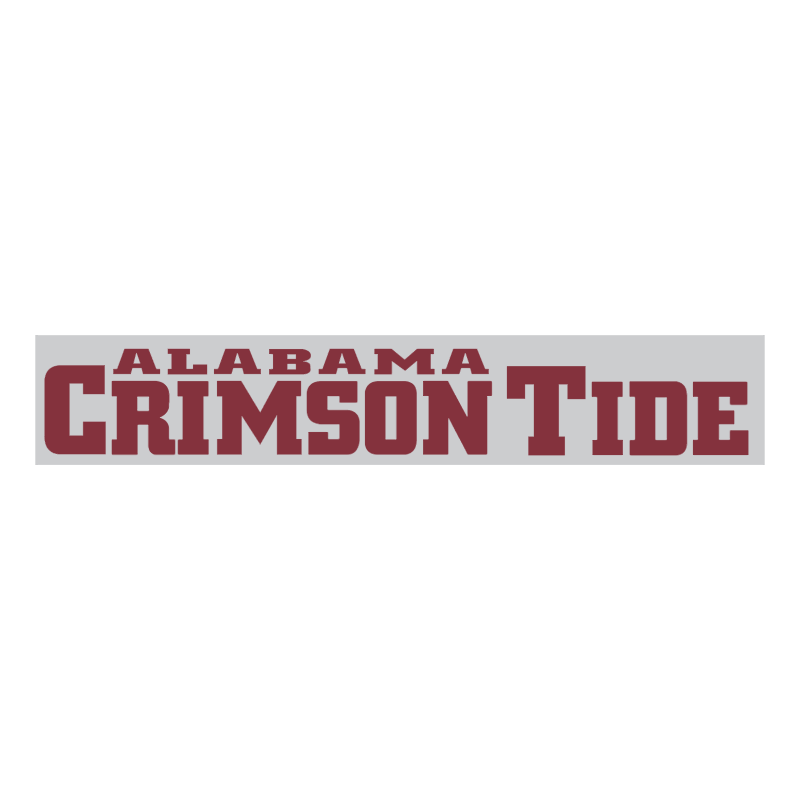 Alabama Crimson Tide 75967 vector