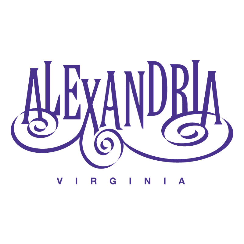 Alexandria Virginia vector