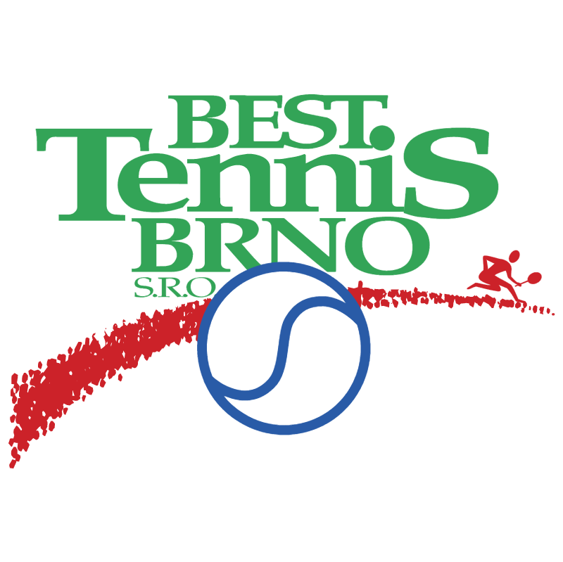 Best Tennis Brno vector logo