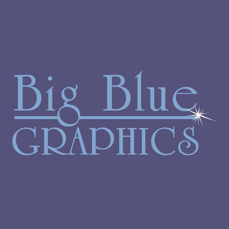 Big Blue Graphics 19801 vector
