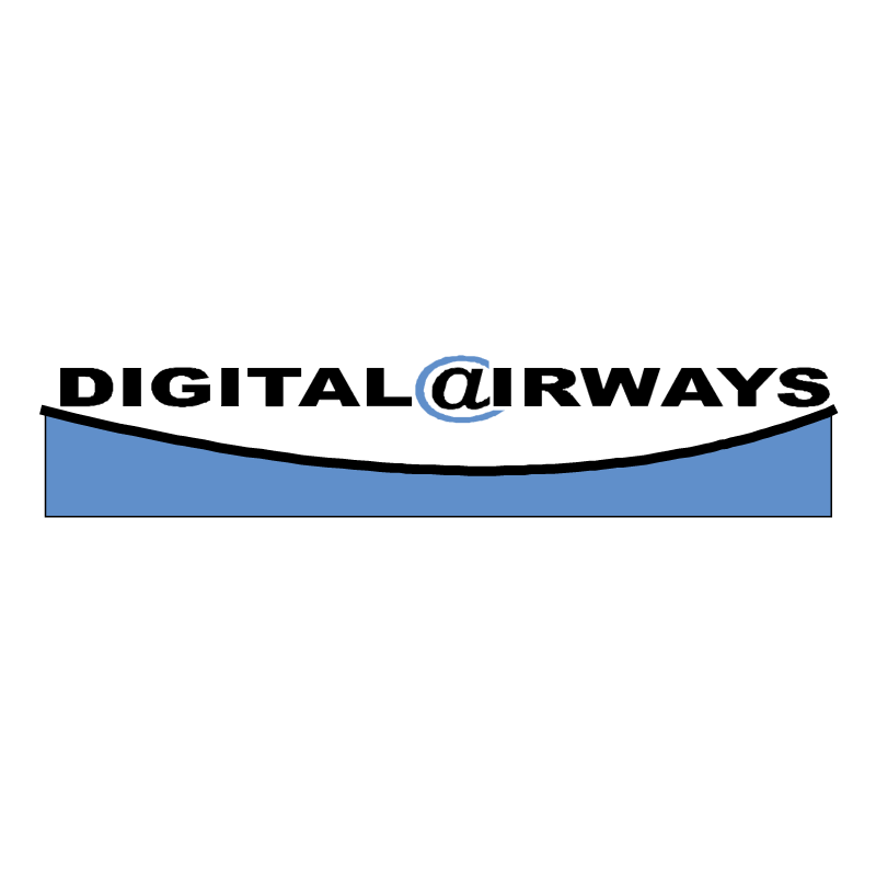 DigitalAirways vector logo