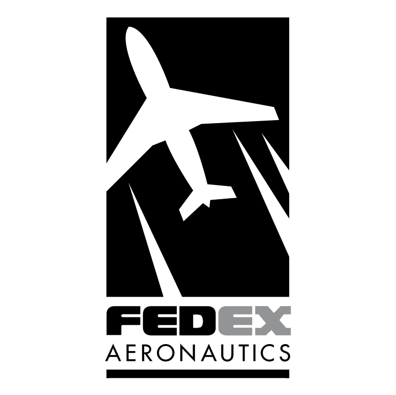 FedEx Aeronautics vector logo