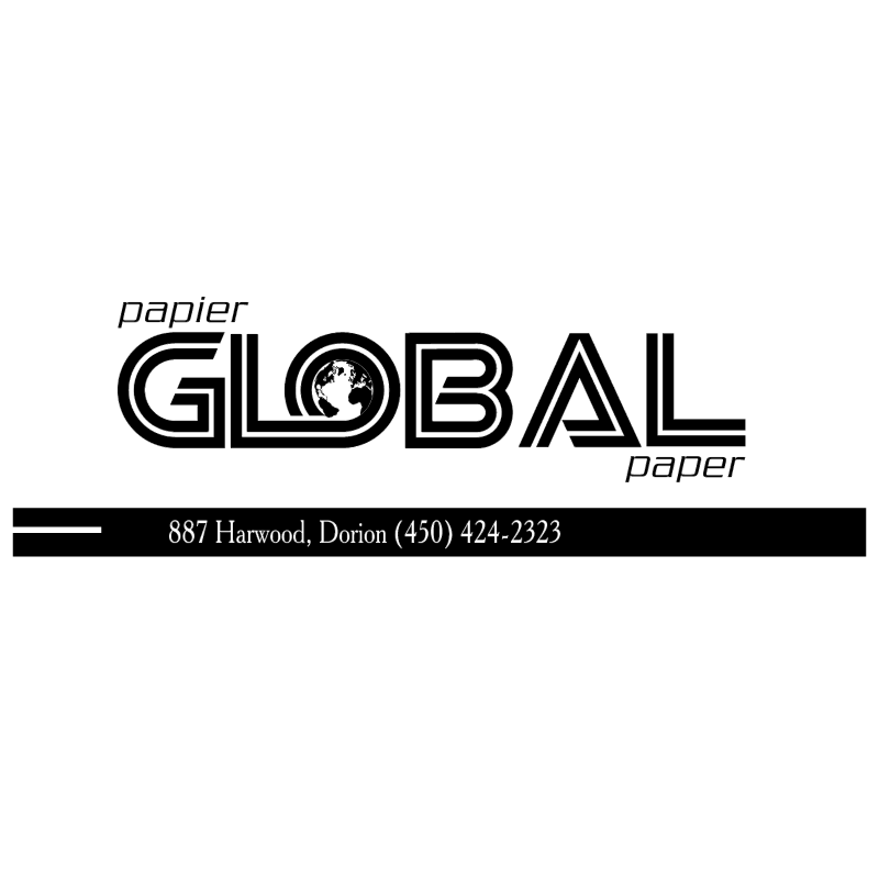 Global Paper vector logo
